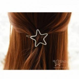 قیمت گیره مو فلزی ستاره ای