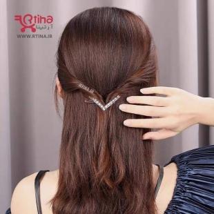 گیره موی فلزی زنانه