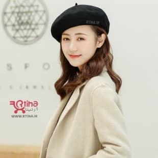 کلاه گرد (برت) زنانه مدل SI46