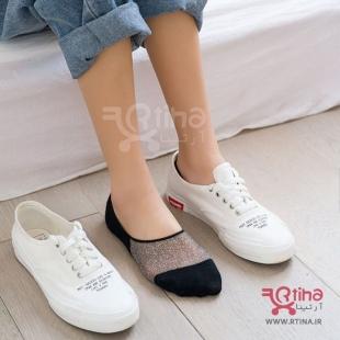 عکس جوراب ساق کوتاه دخترانه