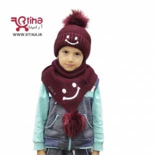 عکس شال و کلاه زمستانی بچه گانه