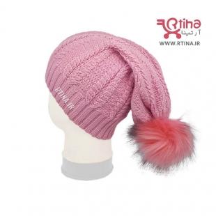 مدل کلاه شیطونی دخترانه پوم پومی