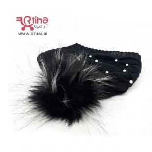 کلاه پوم پوم دخترانه مرواریدی