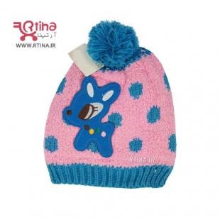 خرید کلاه دختر بچه جدید دو لایه