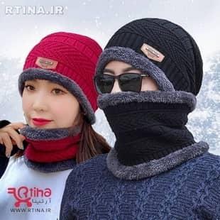 ست کلاه و شال گردن مردانه و زنانه اسپرت RT-SPORT01