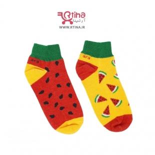 جوراب هندوانه بچه گانه