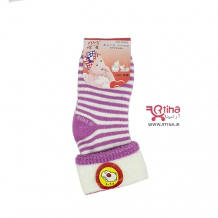 جوراب شیک دخترانه رنگی
