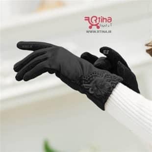دستکش زمستانی تاچ زنانه مدل rugachi