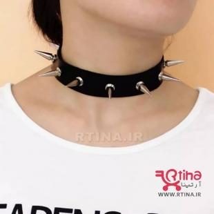 فروش گردنبند چرم زنانه