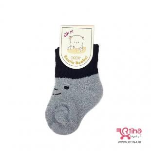 مدل جوراب بوکله ای کودک