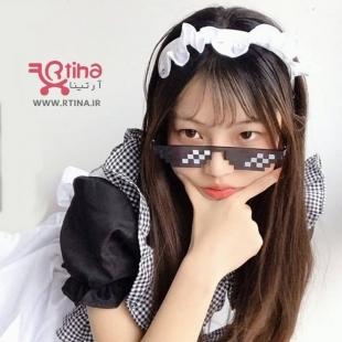عینک تزئینی دخترانه جدید