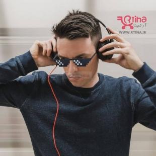 عینک فشن مردانه و زنانه مدل موزائیکی