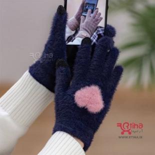 خرید اینترنتی دستکش پشمی زمستانه