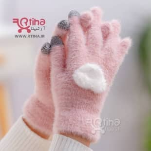 دستکش لمسی زنانه زمستانی