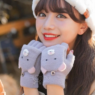 خرید دستکش نیمه زنانه