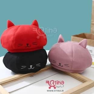 کلاه برت بچه گانه (دختر و پسر) مدل kitti