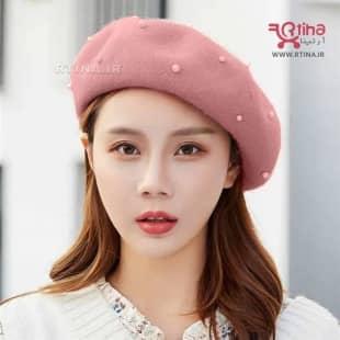 کلاه بره فرانسوی دخترانه و زنانه (اصل) مدلRTH- QUIN
