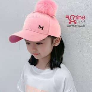 کلاه نقابی خز دار کودک مدل M