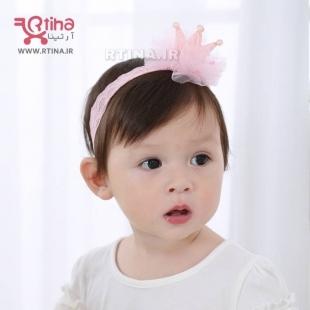 هدبند پارچه ای نوزادی