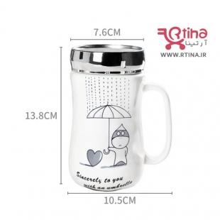 ماگ چای و قهوه با طرح فانتزی
