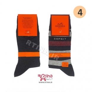 جوراب ساق بلند مردانه مدل hutan3