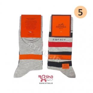 مدل جوراب مردانه خاکستری