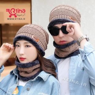 ست کلاه و اسکارف دختر و پسر