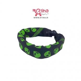 خرید باندانا سبز ومشکی