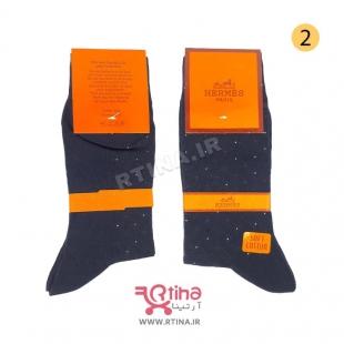جوراب مردانه پنبه ای مشکی