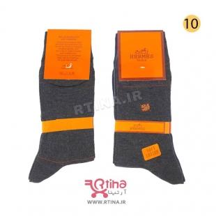 ست جوراب مردانه نانو تیره