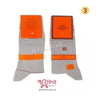 جوراب طوسی روشن مردانه