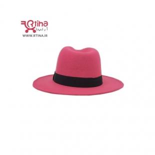 کلاه گرد صورتی
