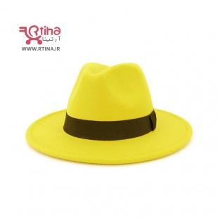 خرید کلاه زرد