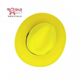 کلاه زرد دخترانه