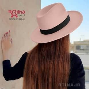 کلاه شاپو خاخامی زنانه رنگ صورتی روشن مدل RT-708