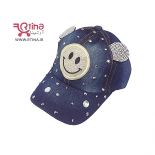 کلاه کپ طرح جین دخترانه