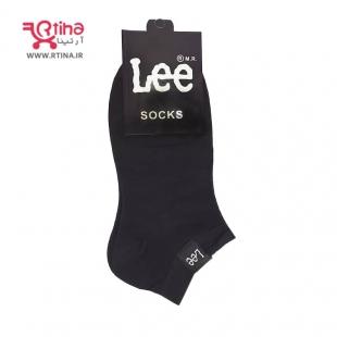 جوراب مچی رنگ مشکی زنانه/ دخترانه /پسرانه مدل RT-LEE-01