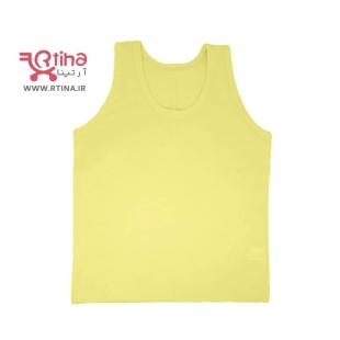 تاپ بچه گانه دخترانه-پسرانه رنگ زرد مدل FG46