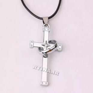 گردنبند صلیب اسپرت ساده دخترانه/پسرانه مدل RT-Z02