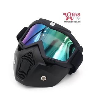 ماسک عینک دار اسکی و موتور سیکلت مدل GO66