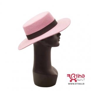 کلاه صورتی گرد