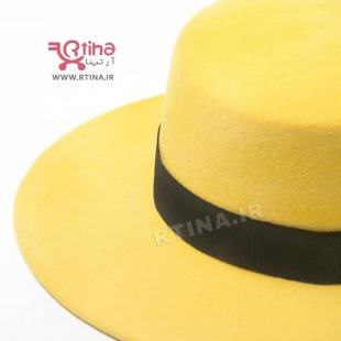 خرید کلاه زرد دخترانه
