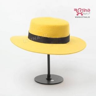 کلاه زرد مردانه