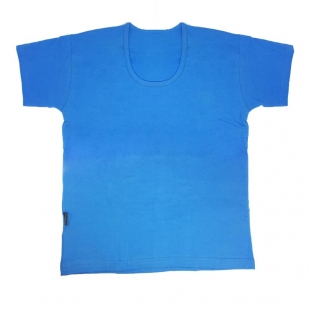 زیرپوش آبی مردانه نخی
