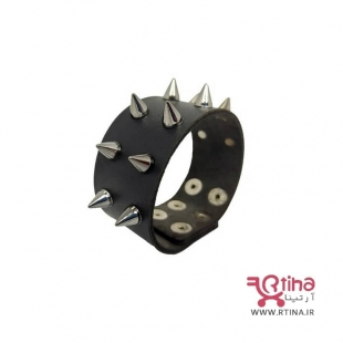 دستبند چرم پسرانه/دخترانه جدید سبک راک 2022
