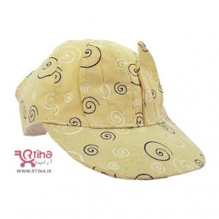 مدل کلاه زرد بچه گانه نقابی