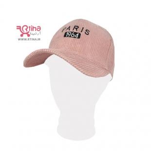 کلاه نقاب دار صورتی زنانه