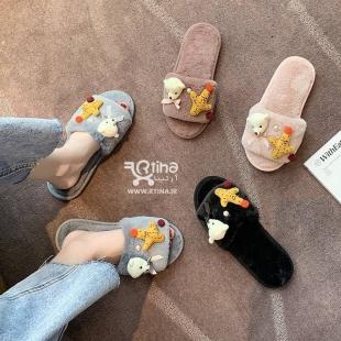 کفش دمپایی روفرشی زنانه