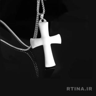 عکس گردنبند صلیب پسرانه