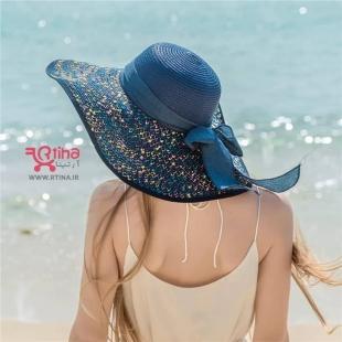 عکس با کلاه ساحلی